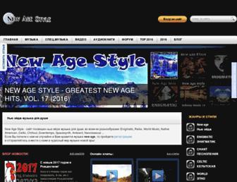 newagestyle.net screenshot
