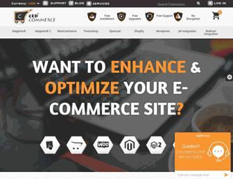 cedcommerce.com screenshot