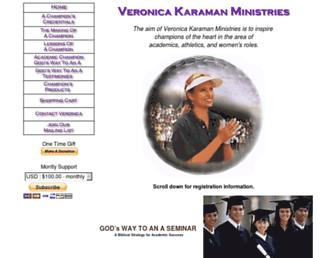 Main page screenshot of vkm.org