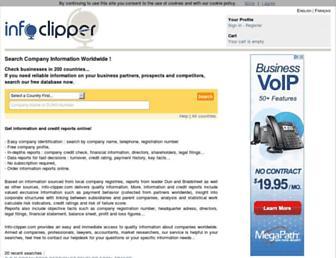 info-clipper.com screenshot