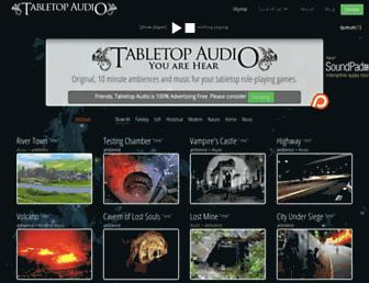 tabletopaudio.com screenshot