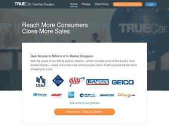 dealerportal.truecar.com screenshot