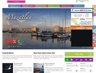 Thumbshot of Visitmexico.com