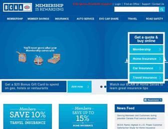 bcaa.com screenshot