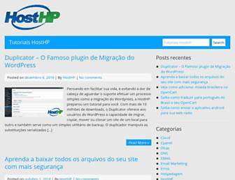 wiki.hosthp.com.br screenshot