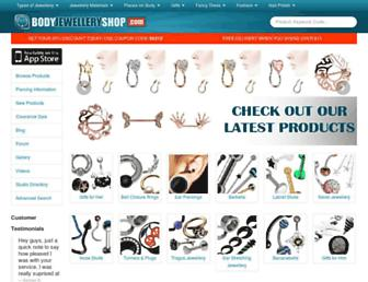 Thumbshot of Bodyjewelleryshop.co.uk