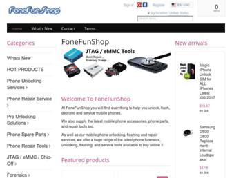 fonefunshop.com screenshot