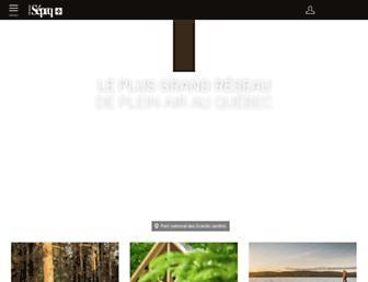 sepaq.com screenshot