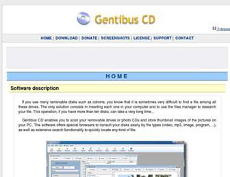 gentibus.com screenshot