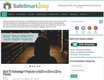 safesmartliving.com screenshot