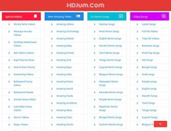 hdjum.com screenshot