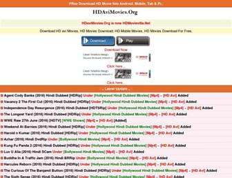 hdavimovies.org screenshot