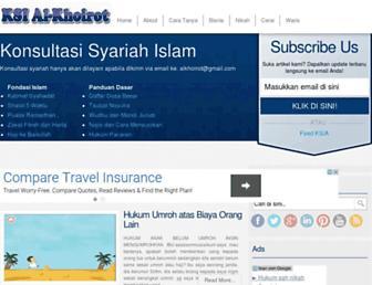alkhoirot.net screenshot