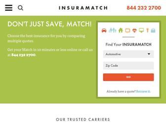 insuramatch.com screenshot