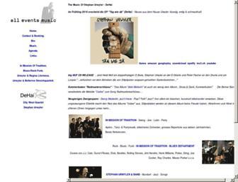 all-events-music.com screenshot