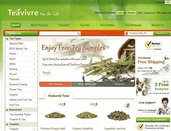 Thumbshot of Teavivre.com