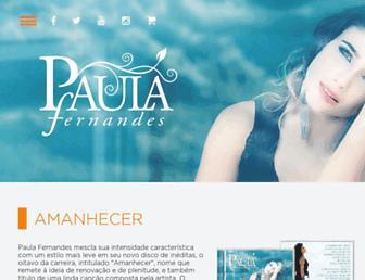 Thumbshot of Paulafernandes.com.br