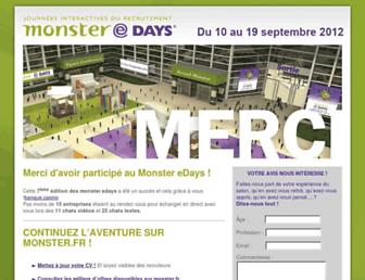 Thumbshot of Monster-edays.fr