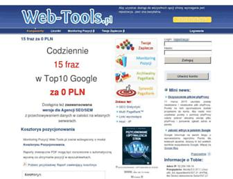 Thumbshot of Web-tools.pl
