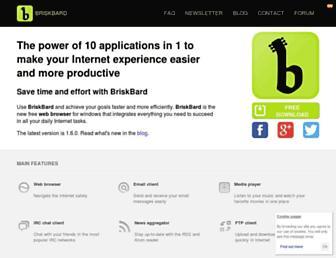 briskbard.com screenshot
