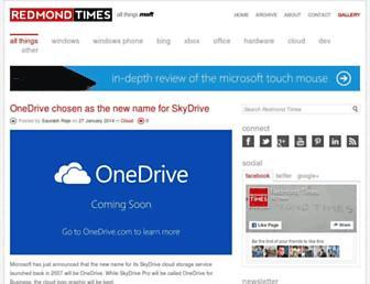 redmondtimes.com screenshot