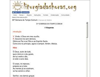 Thumbshot of Liturgiadashoras.org