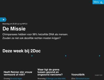 Main page screenshot of hollanddoc.nl