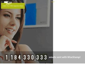 Thumbshot of Wisestamp.com