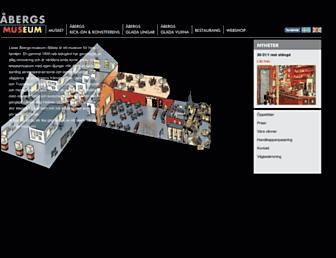 abergsmuseum.se screenshot