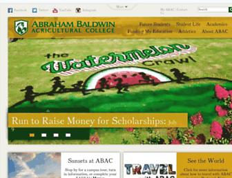 Thumbshot of Abac.edu
