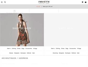 farfetch.com screenshot