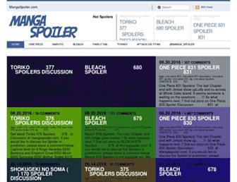 Thumbshot of Mangaspoiler.com