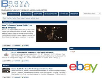 booyagadget.com screenshot