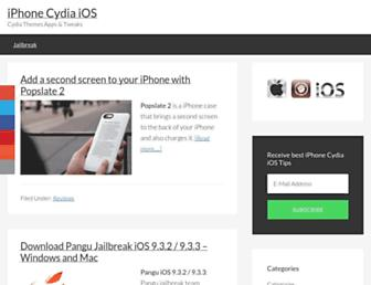 iphonecydiaios.com screenshot