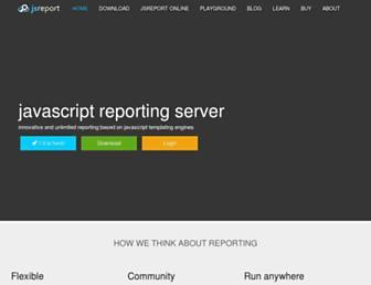 jsreport.net screenshot