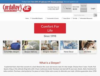 Thumbshot of Cordaroys.com