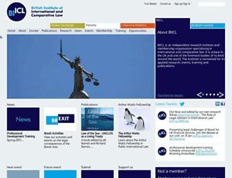 biicl.org screenshot