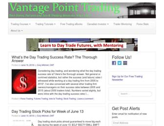 vantagepointtrading.com screenshot