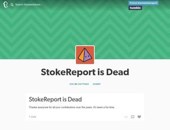 Thumbshot of Stokereport.com