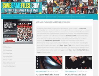 savegamefiles.com screenshot