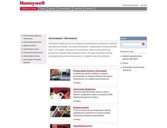 honeywell.com.pl screenshot