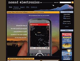 nomadelectronics.com screenshot