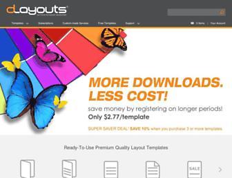dlayouts.com screenshot