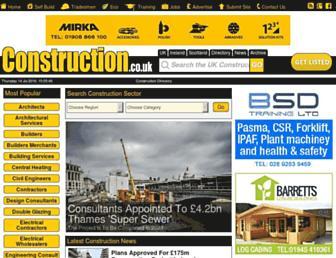 Thumbshot of Construction.co.uk