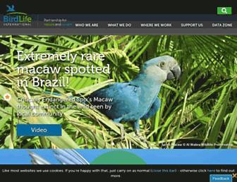 Thumbshot of Birdlife.org