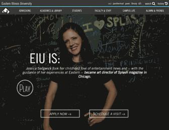 eiu.edu screenshot