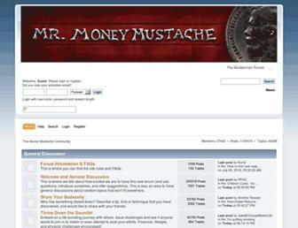 forum.mrmoneymustache.com screenshot