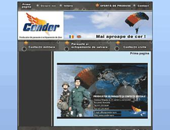 condor-sa.ro screenshot