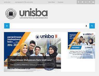 Thumbshot of Unisba.ac.id
