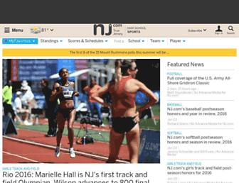 highschoolsports.nj.com screenshot